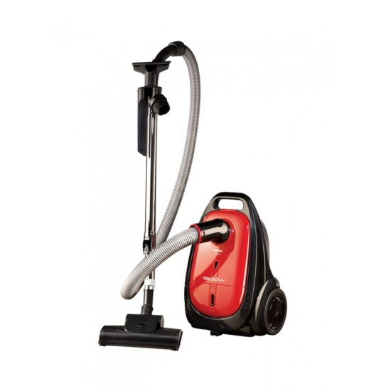 Toshiba Vacuum Cleaner With Anti-Bacterial Filter 1600W Red/Black/Silver