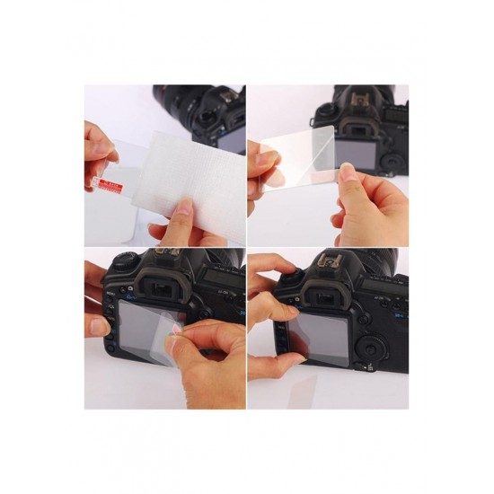 Lynca LCD Screen Protector For Nikon Digital Cameras D7100/D600/D61000 Clear 0.5 millimeter