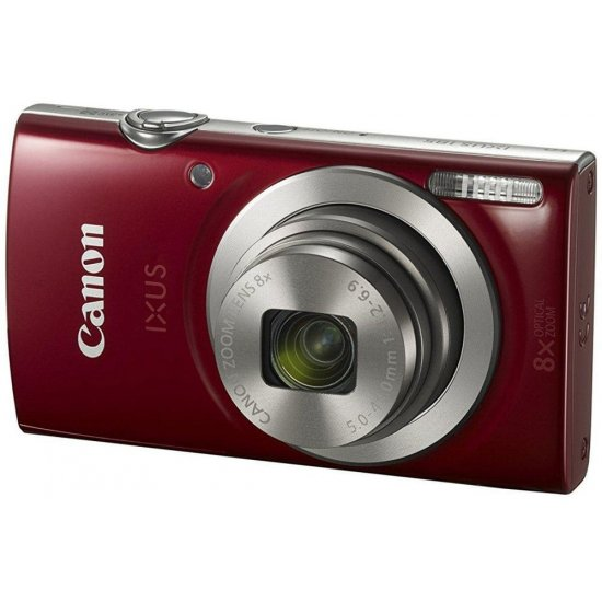 Canon Point & Shoot,20 MP ,8x Optical Zoom and 2.7 Inch Screen - IXUS185