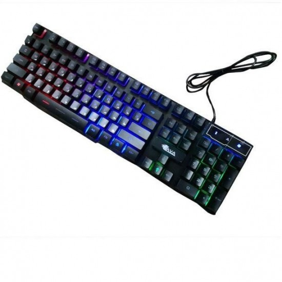 Lava ST-22 Backlight Gaming Wired Keyboard - Silent Edition