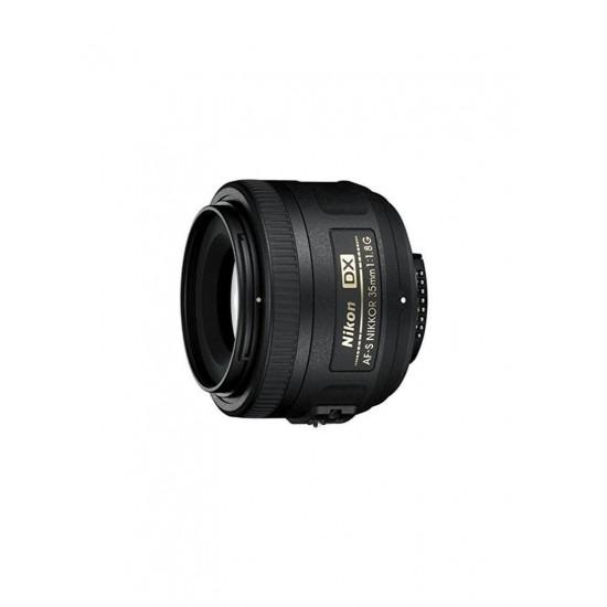 Nikon AF-S DX Nikkor 35mm f/1.8G ED Lens Black