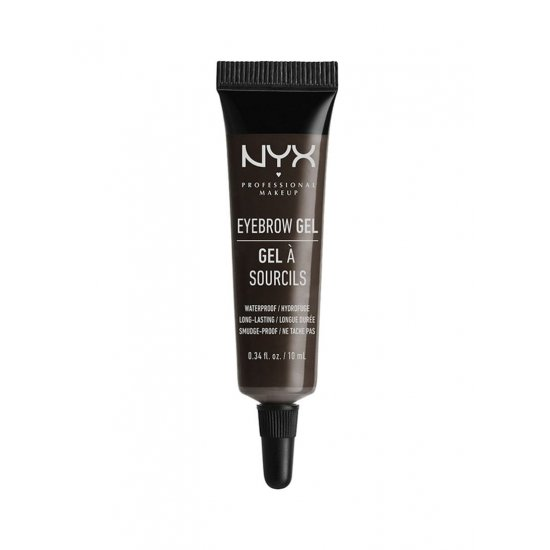 NYX Professional Makeup Eyebrow Gel Black