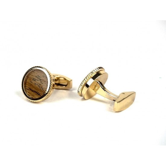 Men cufflink stainless steel