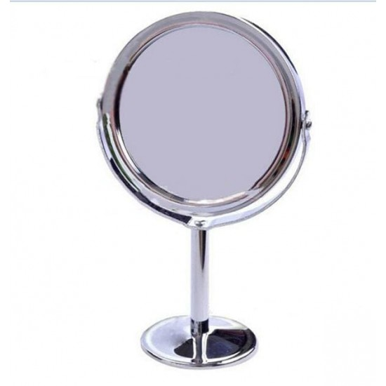 Trendy Magnification Makeup Mirror Rotating Dual Sided Round Shape