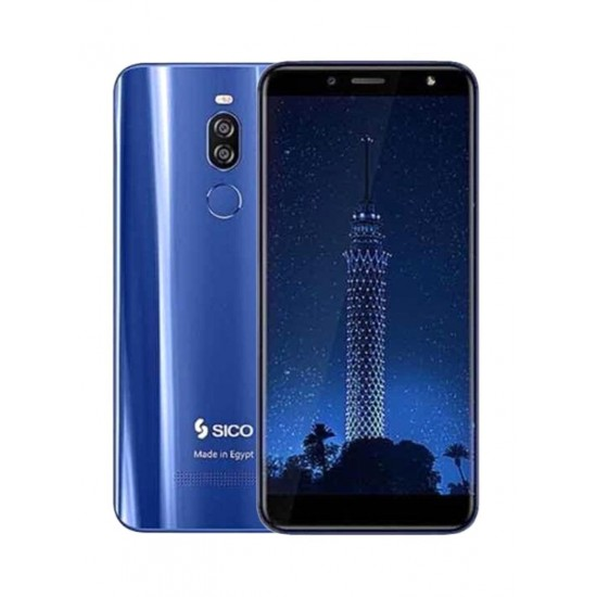 SICO Nile X Dual SIM Blue 64GB 4G LTE