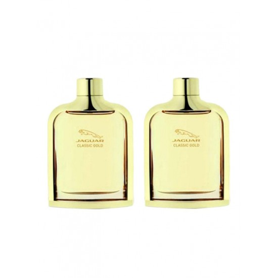 JAGUAR 2-Piece Classic Gold EDT Gift Set (2X100 ml)