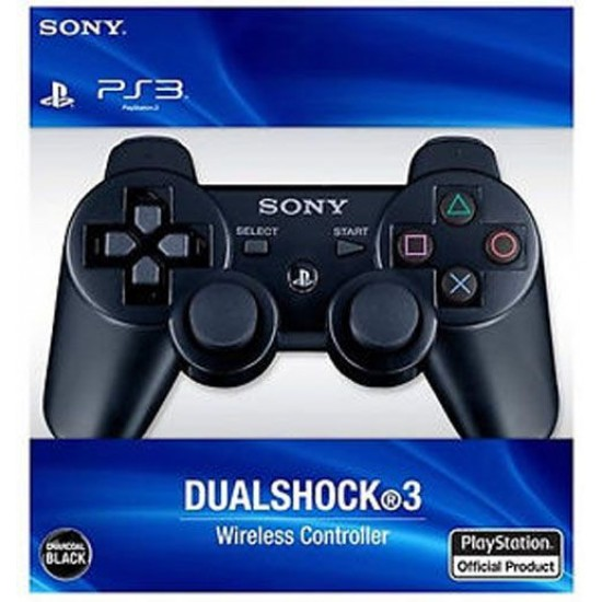 Sony Playstation Dualshock 3 Wireless Controller - Black