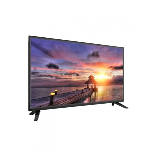 Contex 43-Inch FHD Standard DLED TV With 2 Remote Control And Wall Mount LE-43Z101 Black