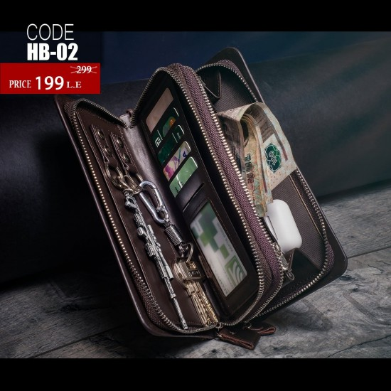 Multi-Functional Leather Wallet